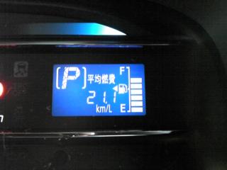 20111126ミライース燃費